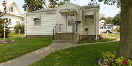 SOLD – 532 N Lincoln St  West Point NE